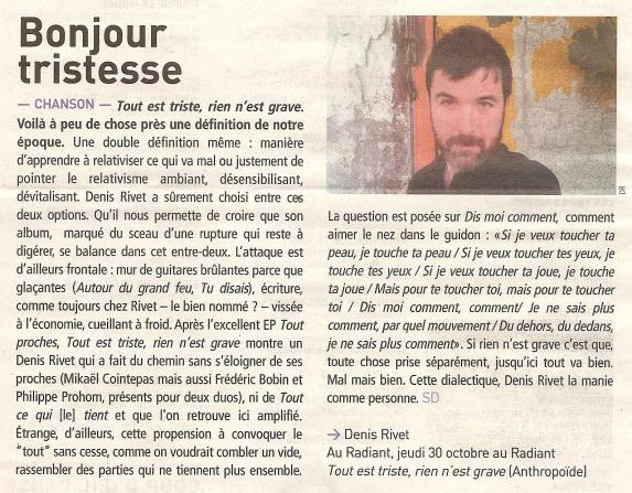 article petit bulletin - 29 octobre 2014